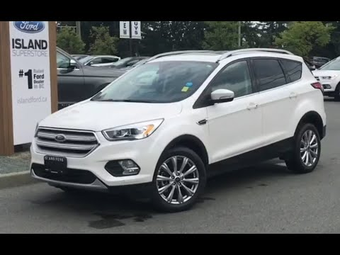 2018 Escape Titanium, Moonroof, Nav, AWD Review| Island Ford