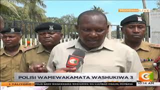 Polisi bado wanawasaka washukiwa wa ujambazi Kisauni, Mombasa