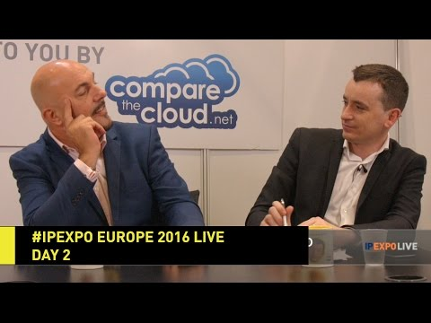 #IPEXPO Europe 2016 Live - Day 2 - IP EXPO - Disruptive Tech TV