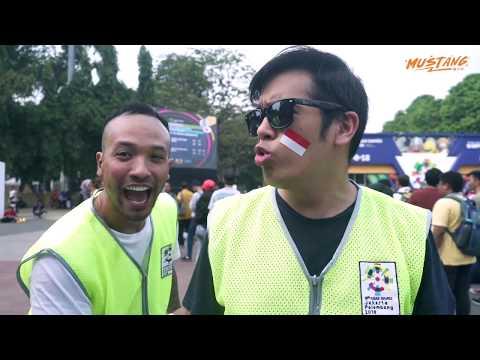 Adhi, Ibel, Mike Pusing Jadi Volunteer Asian Games 2018