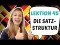 GERMAN LESSON 45 German Sentence Structure Explained Part 2 mp3