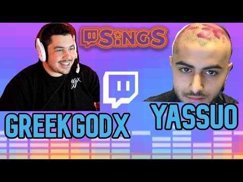 Yassuo Sings With GreekGodx!!!!Twitch Sings!