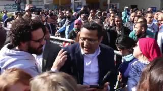 مصر العربية | مظاهرات أمام مجلس الدولة فرحا بحكم تيران وصنافير