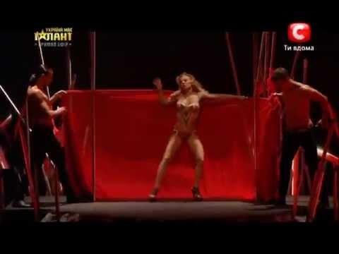 Unbelievle pole dance s at Ukraine got talent final by Anastasia Sokolova ...