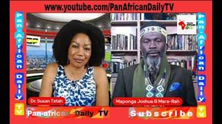 King Maponga Joshua On Farmers of Thought, Media, Religion & United Kingdom of Africa