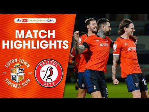 Luton Bristol City Goals And Highlights