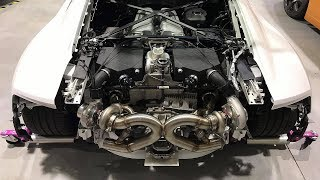 Badass Audi R8 V10 Plus Twin Turbo 900HP Acceleration & Sound
