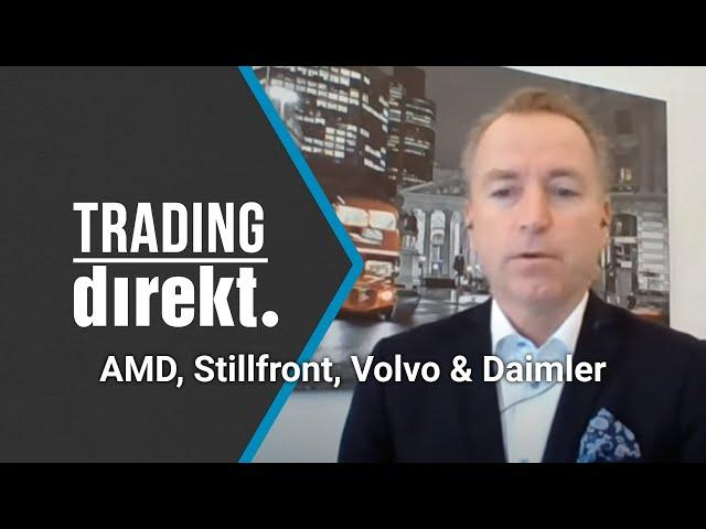 Trading Direkt 2021-03-16: Därför köper Jonas Olavi AMD, Stillfront, Volvo och Daimler!