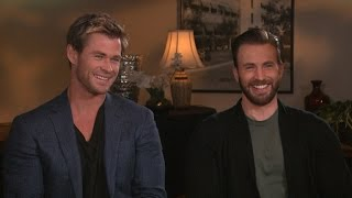 'Avengers: Age of Ultron' Stars Chris Evans and Chris Hemsworth Take the 'Chris vs. Chris' Quiz!