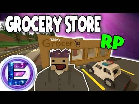 GROCERY STORE RP - Thank you come again ! - Unturned Roleplay