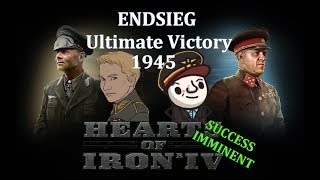 HoI4 - Endsieg - 1945 WW2 Germany - #10 Daniel Rebuilds the German Empire