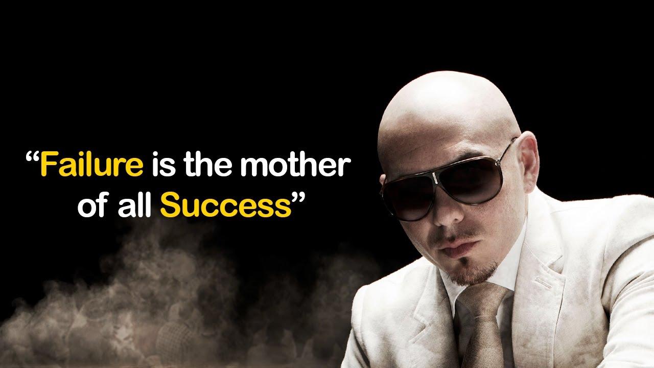 Only Learning Pitbull Motivational Speech Youtube