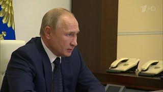 Ситуация с коронавирусом стала одной из главных тем совещания Владимира Путина с правительством