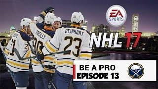 LE SPRINT FINALE !!  | Be A Pro | Épisode #13 - Sabre Buffalo | NHL 17, Ps4 , FR-Qc