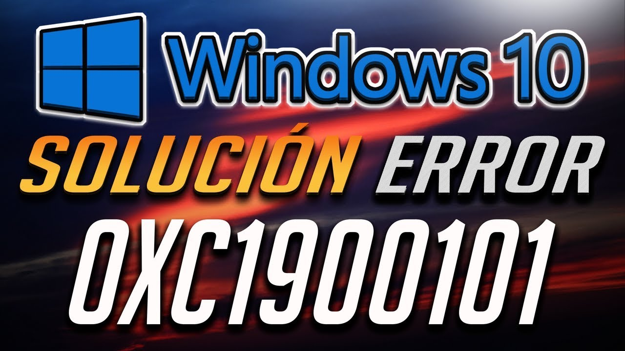 Error de Actualizacion 0xc1900101 en Windows 10 [4 Soluciones 2019]
