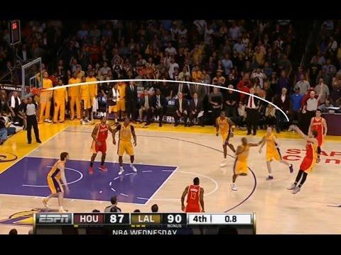 NBA 'Low' Arcing Shots