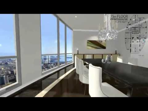 Aura Penthouse Yonge and Gerrard Toronto - TheRedPin.com
