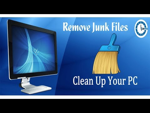How To Clean Up C Drive And Remove Junk Files From Your Computer!!!