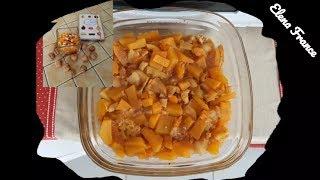 УДИВИ ГОСТЕЙ! Новогодний десерт-пюре из тыквы и мандаринов | Compote de Noël à base de potiron