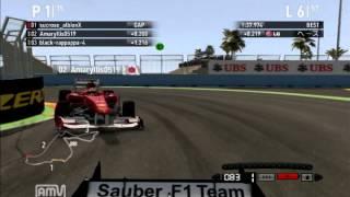 [F1 2011]RK杯 リアルF1追っかけ100% バレンシアGP スク視点