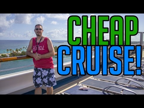 HOW TO BOOK A CHEAP CRUISE!!