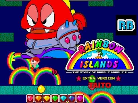 1988 [60fps] Rainbow Islands (Extra) ALL