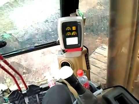 สอนขับรถแบ็คโฮ Backhoe รถแม็คโคร CAT320D