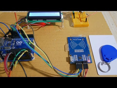 RFID-RC522 on Arduino with LCD i2c display - Arduino