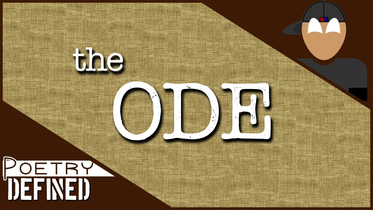 Download The Ode   #PoetryDefined