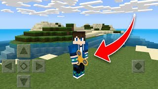 How to make a FIDGET SPINNER in MCPE!! 1.0.9 Minecraft Pocket Edition