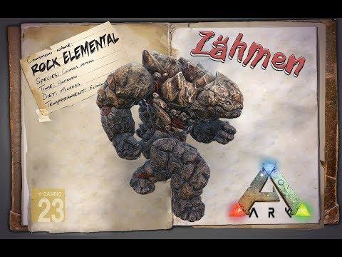 ARK: Survival Evolved [GUIDE/Deutsch] ** Rock Elemental - Steingolem zähmen **