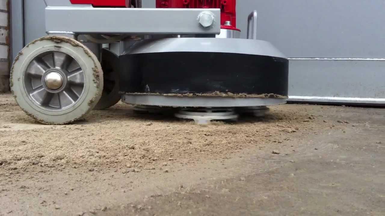 снятие бетона