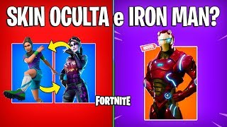 FORTNITE-SKIN ANONYMOUS et IRON MAN ARRIVING?