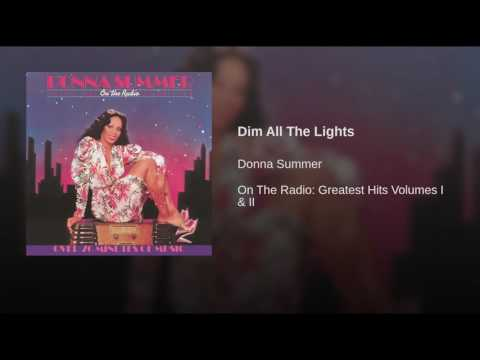 Dim All The Lights