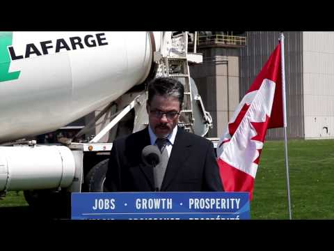 Eco Energy Innovation Initiative & Lafarge Bath Plant Low Cabon Fuels Project Press Conference