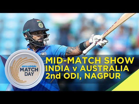 Kohli Wages Lone Battle, Brings Up 40th ODI Hundred To Take India To 250 #MatchDay IndvAus, Mid-show