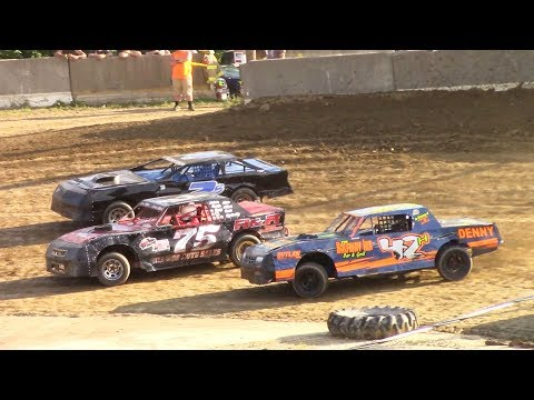 Pure Stock Heat One | Old Bradford Speedway | 7-9-17