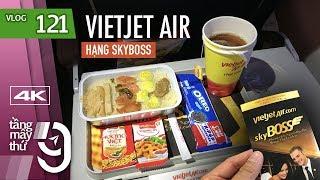 [M9] #121: Lần đầu đi hạng thương gia Skyboss của VietJet Air | Yêu Máy Bay