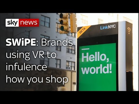 Swipe | Upgraded phone boxes & brands using VR to influence how you shop