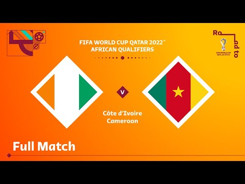 Côte d'Ivoire v Cameroon | FIFA World Cup Qatar 2022 Qualifier | Full Match