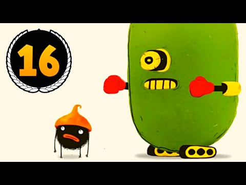 ИГРА ЧУЧЕЛ мультик игра #16 для маленьких детей игровой мультфильм 2018 Chuchel Черный шарик!