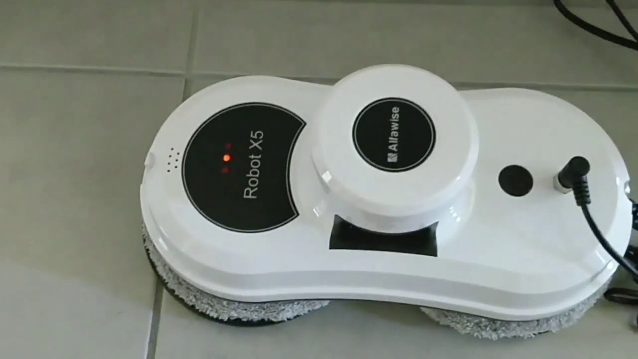 robot nettoyeur de vitres intelligent youtube. Black Bedroom Furniture Sets. Home Design Ideas