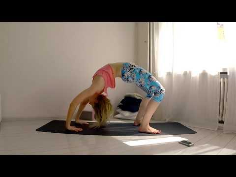 Yoga How to Wheel Pose Urdhva Dhanurasana