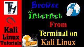 Use Kali Linux Terminal As Browser And Browse Internet With Terminal, Kali Linux