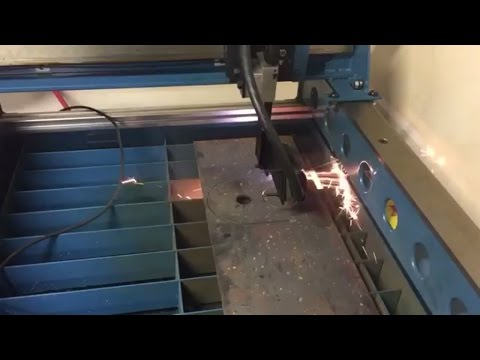 Cvt Adapter Plate Cut Out On Baileigh Industrial Pt 22 Cnc Plasma Table