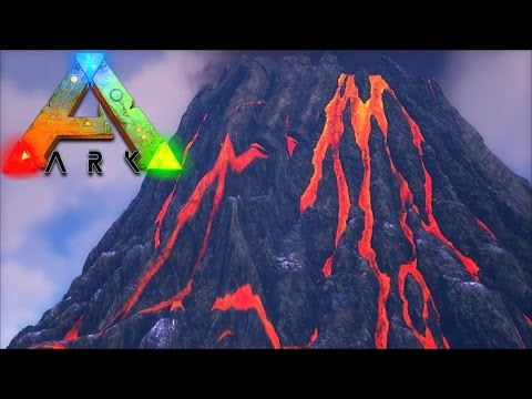 Ark! Map Spotlight! - THE VOLCANO! - 100% PLAY THIS MAP!