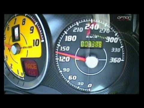 340 km/h en Ferrari 430 Scuderia...