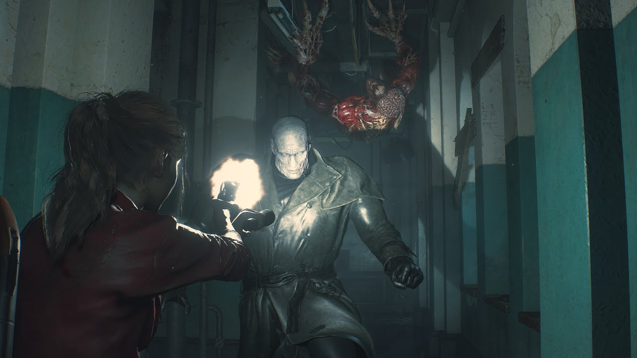 Resident Evil 2 Remake Game's Leon, Claire Gameplay Videos Streamed