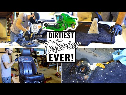 Cleaning The Dirtiest Car Interior Ever! Complete Disaster Full Interior Car Detailing Ep. 13