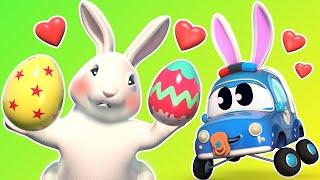 Малыши Машинки -  Малыши помогают Пасхальному Кролику - Обучающие мультфильмы Автомобильного Города